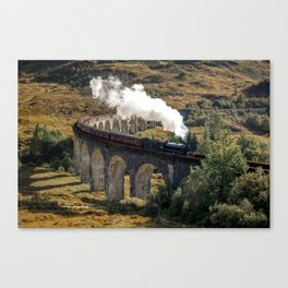 The Hogwarts Express Canvas Print