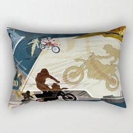 Motocross Rectangular Pillow
