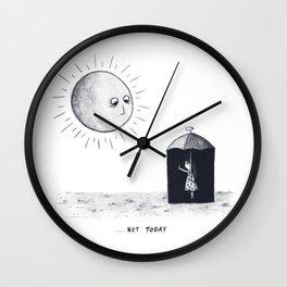 Don't Sunshine On My Rain Parade Wall Clock
