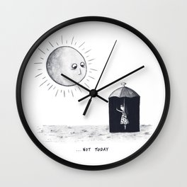 Don't Sunshine On My Rain Parade Wall Clock
