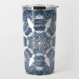 Fractal Art - Tiki Bue I Travel Mug