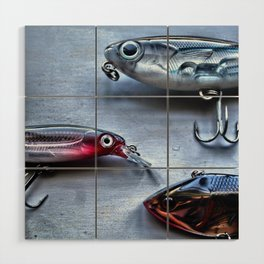Time to Fish, Freshwater Fishing Wood Wall Art