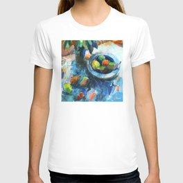 Blue still life T-shirt