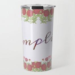 Simplify Travel Mug