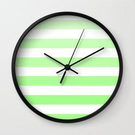 green is in Wall Clock