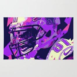 CALVIN JOHNSON // NFL  GRIDIRON ILLUSTRATIONS Rug