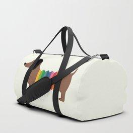 Rainbow Dooooog Duffle Bag
