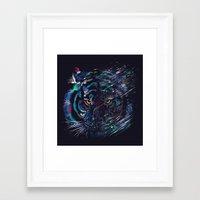 fierce Framed Art Prints featuring FIERCE by dan elijah g. fajardo