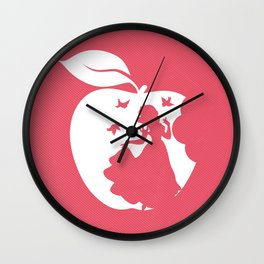 Snow White art film inspired Wall Clock