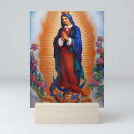 Our Lady of Guadalupe - Virgen de Guadalupe Mini Art Print