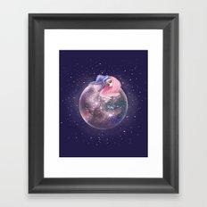 Lost in a Space / Callistori Framed Art Print