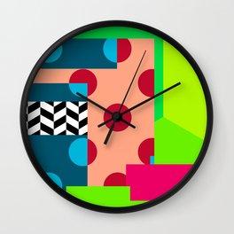 MishMash Number 1 Wall Clock