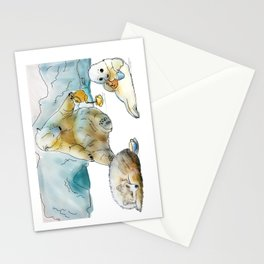 Polar Tea Party Stationery Cards