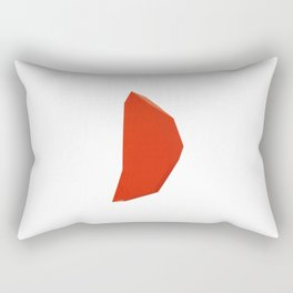 Abstract Re-Created Painting in Space Rectangular Pillow