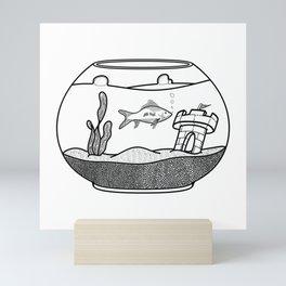 Home Fish Home Mini Art Print