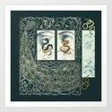 Snake Eyes :: Fine Art Collage by jennylloyd