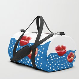 Coquelicot et flux bis Duffle Bag