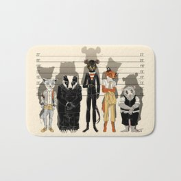 Unusual Suspects Bath Mat