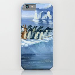 Isabella and the Penguins iPhone Case