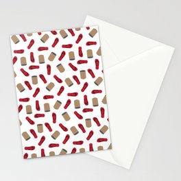 Tumbang Preso (Hit the Can) Red Stationery Cards