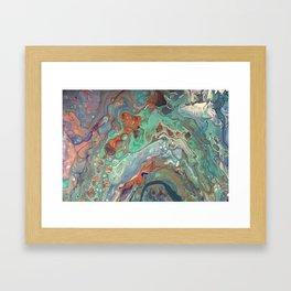 """Caribbean Coast"" by Laurie Ann Hunter Framed Art Print"