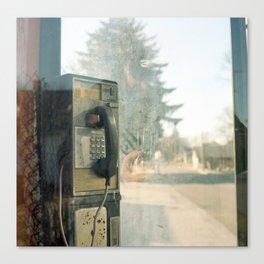 Payphone.  Canvas Print