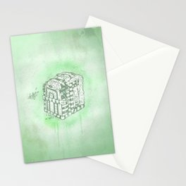 Boxed Mime (Green) Stationery Cards