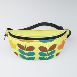 Flowers with bees Fanny Pack