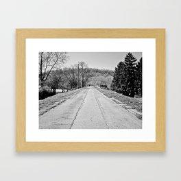 Long Road To Ruin Framed Art Print