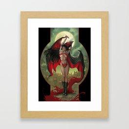 Vampirella Framed Art Print