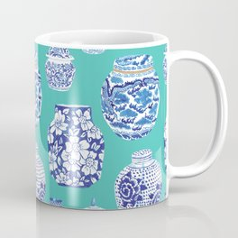 Chinoiserie Ginger Jar Collection No.5 Coffee Mug