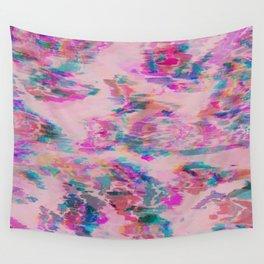 Ikat Glitch Wall Tapestry