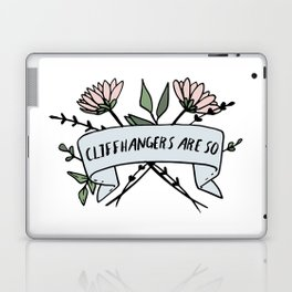 Cliffhangers Are So V2 Laptop & iPad Skin