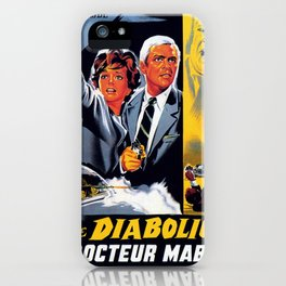 The Diabolical Doctor Mabuse iPhone Case