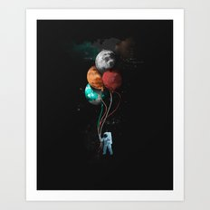 A Space Oddity Art Print