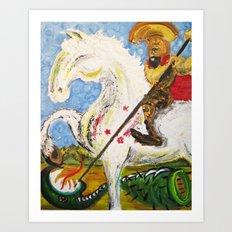 Sao Jorge Art Print