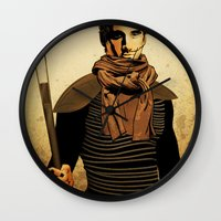 dune Wall Clocks featuring DUNE by TidalWave Productions