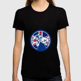 British Joiner Union Jack Flag Icon T-shirt