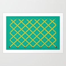 Laces Art Print