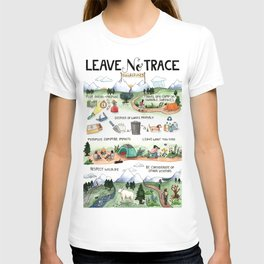 Leave No Trace Guidelines T-shirt