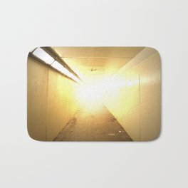 Light at the End of the Tunnel Bath Mat