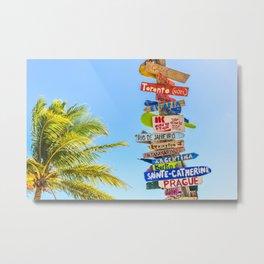 travel #society6 #decor #buyart #homedecor Metal Print