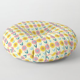 Hello Sunshine Sunflower Floor Pillow