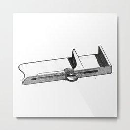 Composing stick (Typography) Metal Print