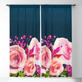 Flowers bouquet 84 Blackout Curtain