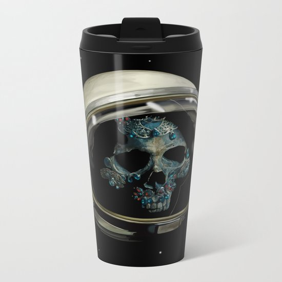 Holy Starman Skull II Metal Travel Mug