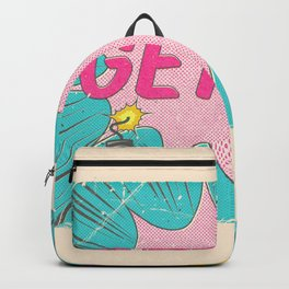 Get Up And Never Give Up Backpack