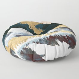 Winters Day Floor Pillow