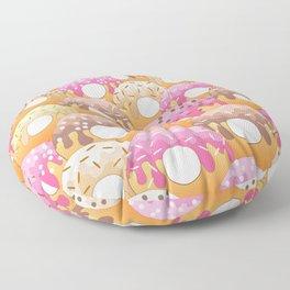 Donuts Wanderlust Floor Pillow