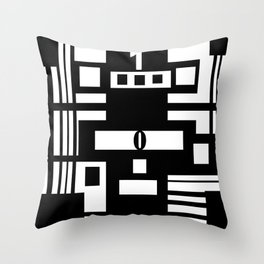 Between causes Throw Pillow